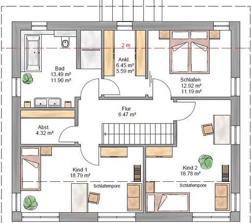 Pulthaus 167 Floorplan 2