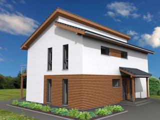 Pulthaus 169 von Suckfüll - Unser Energiesparhaus Außenansicht 1