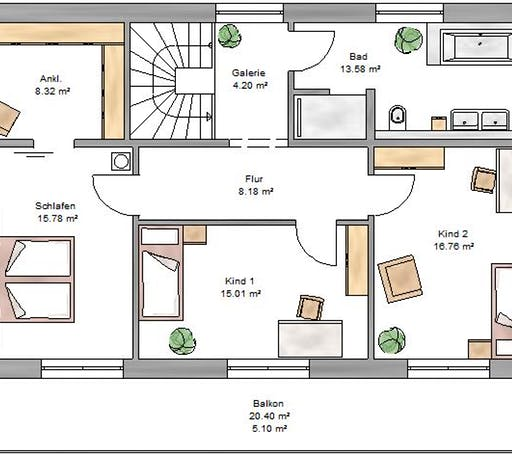 Pulthaus 169 Floorplan 1