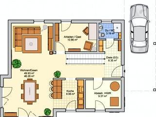 Balance von Fingerhut Haus Grundriss 1