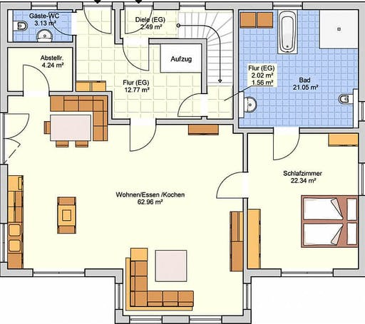 R 159.10 Floorplan 1