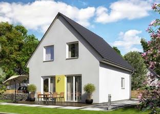 schl sselfertiges massivhaus bis euro. Black Bedroom Furniture Sets. Home Design Ideas
