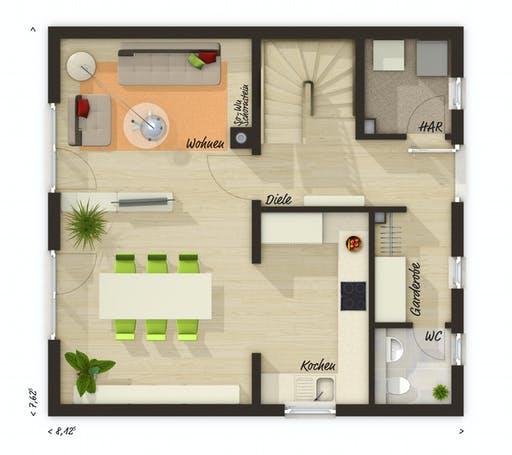 Raumwunder 90 Trend Floorplan 2