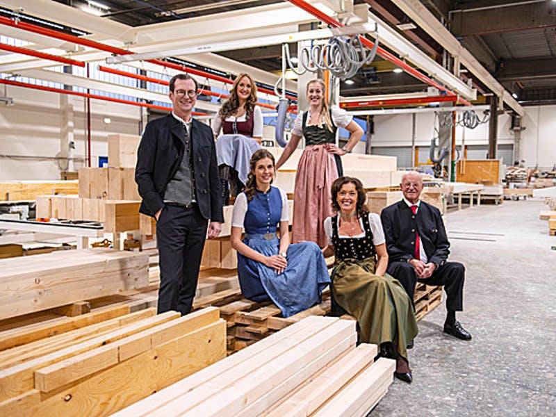 Mitglieder des Familienunternehmens Regnauer Vitalhäuser