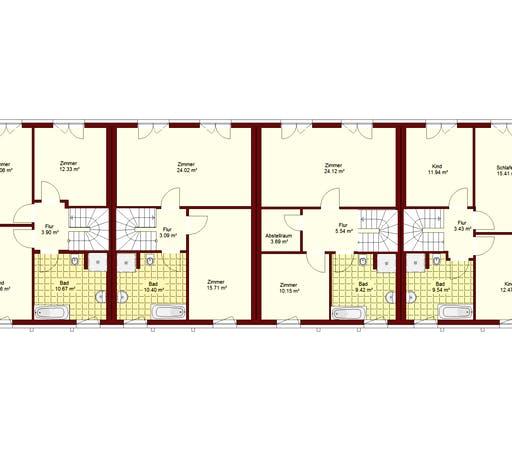 Reihenhaus Herzberge Floorplan 2