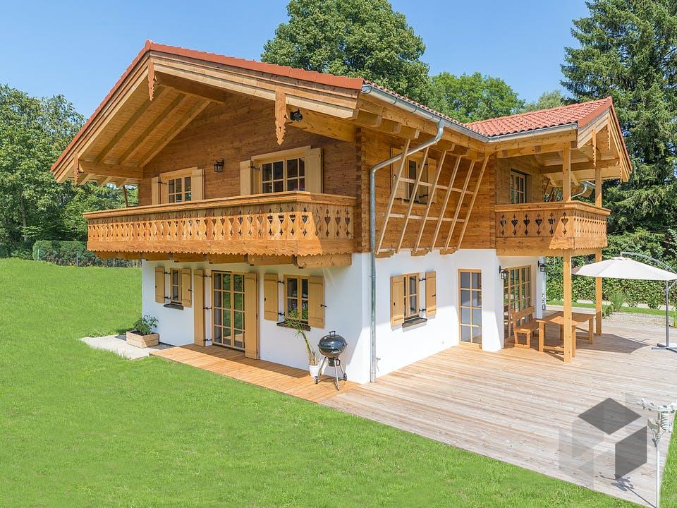 Chiemsee von Rems-Murr-Holzhaus Außenansicht