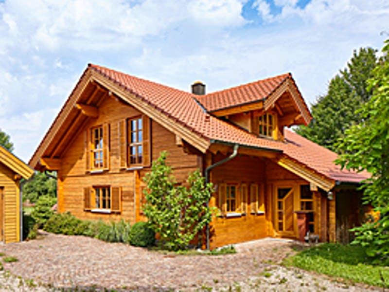Blockhaus Chalet von Rems-Murr-Holzhaus