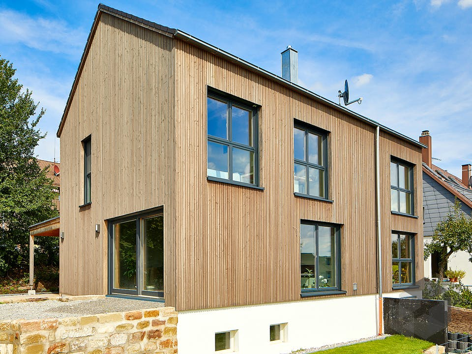 Korntal von Rems-Murr-Holzhaus Außenansicht