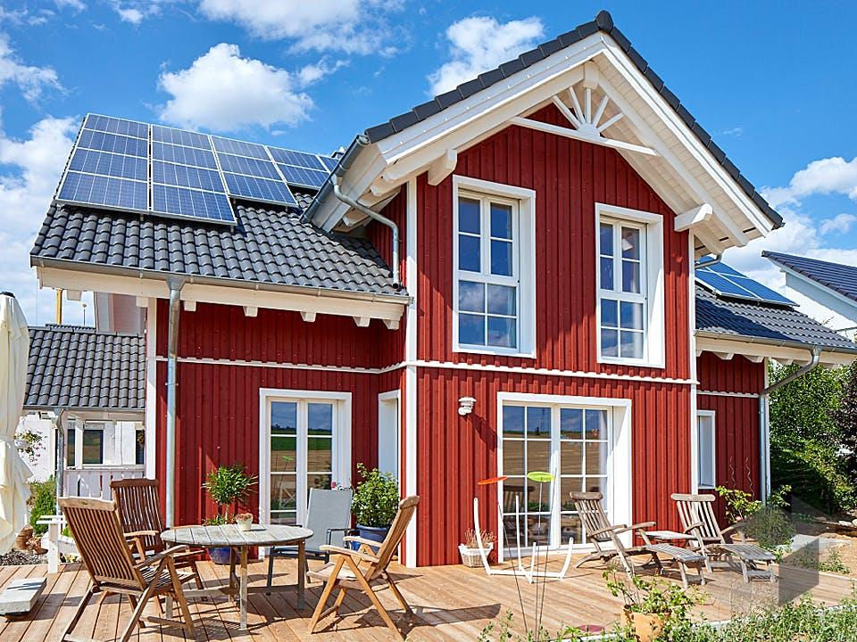 Oedheim von Rems-Murr-Holzhaus Außenansicht