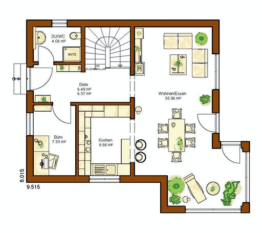 Rensch - CLOU 119 Floorplan 1