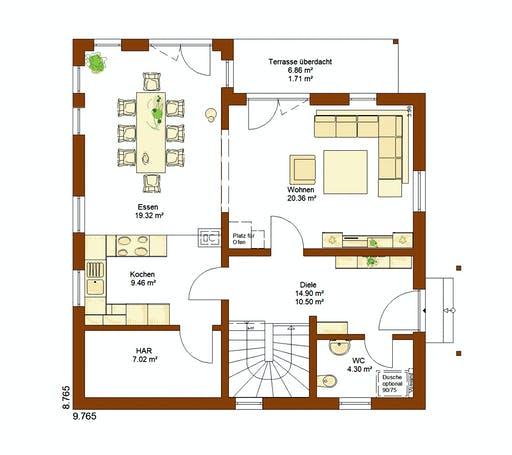 Rensch - CLOU 135 WD Floorplan 1