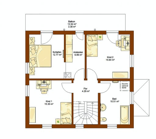 Rensch - CLOU 135 WD Floorplan 2