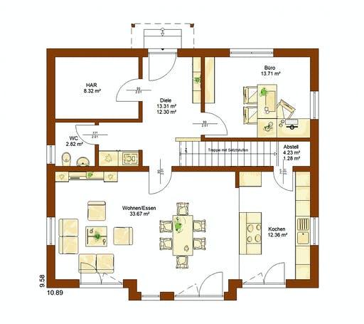 Rensch - CLOU 169 Floorplan 1