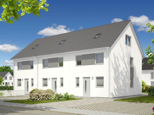 Mainz 128 Reihenmittelhaus von Town & Country Haus Außenansicht 1
