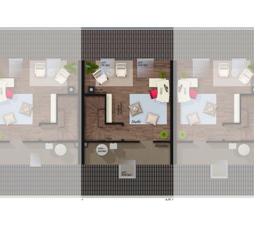 Mainz 128 Reihenhaus Elegance Floorplan 2