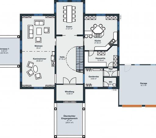 Rheinau Linx - Villa floorplan 01
