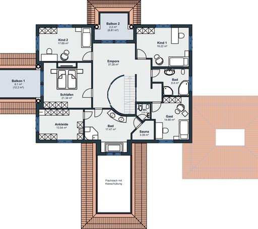Rheinau Linx - Villa floorplan 02