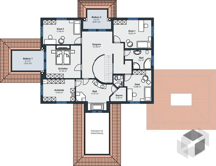 Traumvilla grundriss  Ausstellungshaus Rheinau-Linx - Villa von WeberHaus | komplette ...