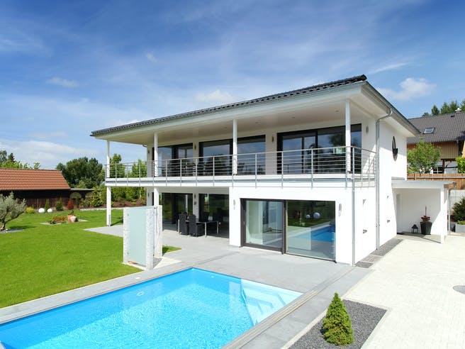 Riederle - Kundenhaus von Baufritz Außenansicht 1