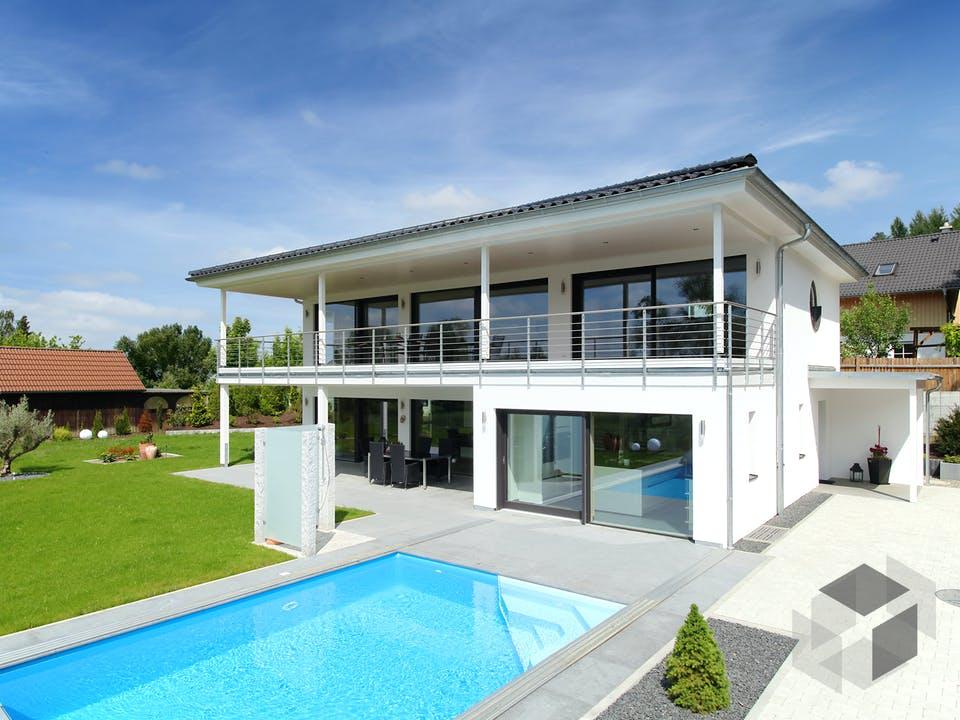 Riederle - Kundenhaus von Baufritz Außenansicht