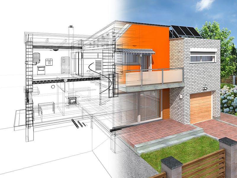 Röder Massivhaus - vom Entwurf bis zum fertigen Haus