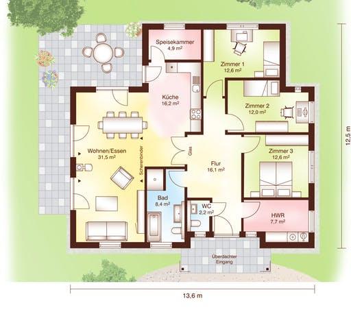 Rönne Floorplan 1