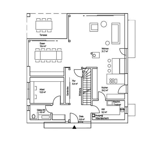 Roreger - Architektur 1 Floorplan 1