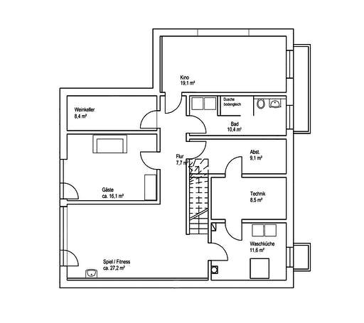 Roreger - Architektur 1 Floorplan 3