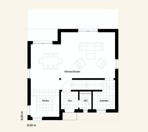 Rostow Bauhaus 130 Floorplan 1
