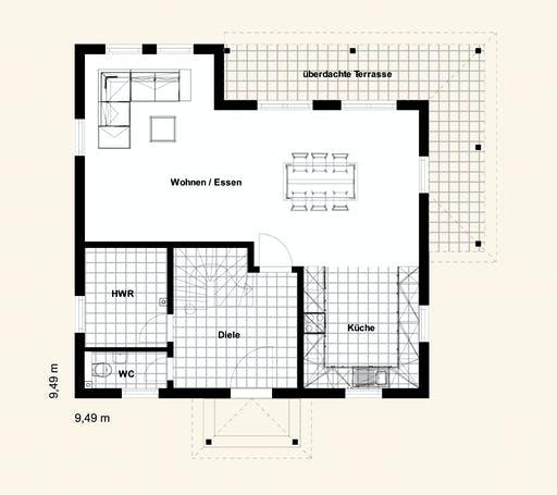 Rostow Capri 140 Floorplan 1