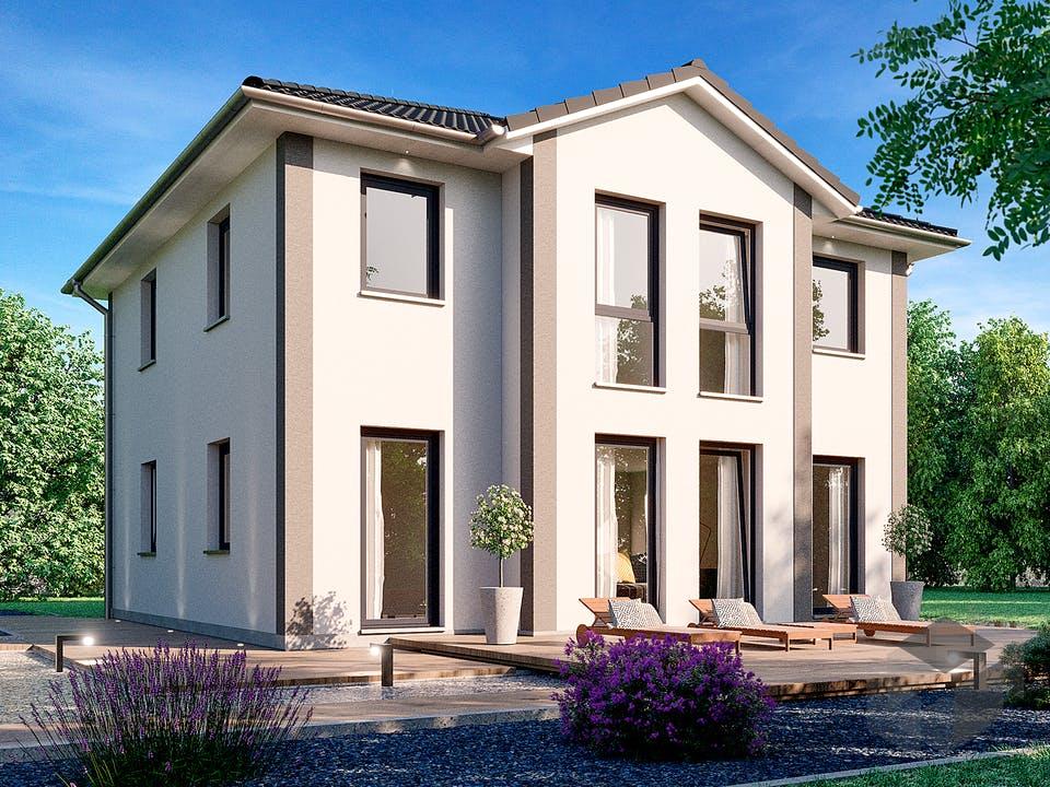 Mailand 150 von Rostow Massivhaus Außenansicht