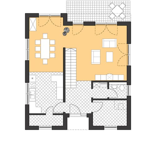 Roth Cubatur 155 Floorplan 1