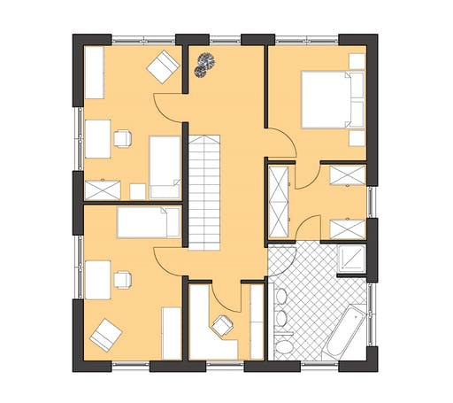 Roth Cubatur 155 Floorplan 2