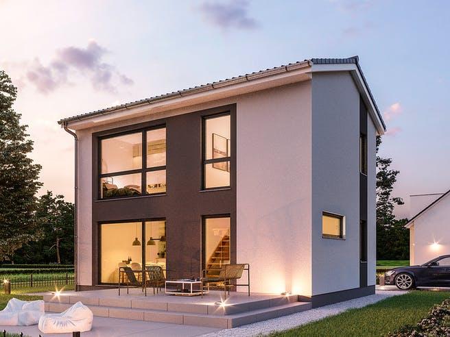 Minimassiv-Haus Fehmam von ROTH-MASSIVHAUS Außenansicht 1