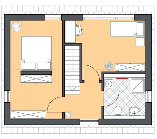 Roth Massiv - Minimassivhaus Fehmam Floorplan 2