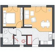 Minimassiv-Haus Hiddensee Grundriss
