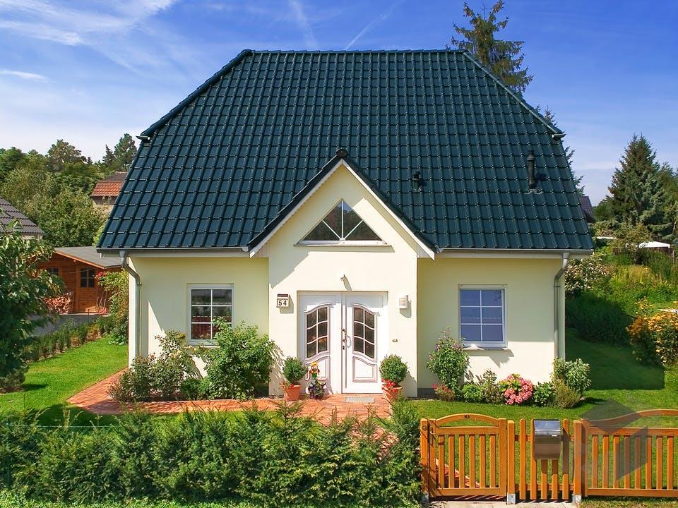 Landhaus 142 von Roth-Massivhaus Außenansicht