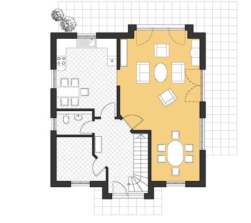 Roth Landhaus 142 Floorplan 1