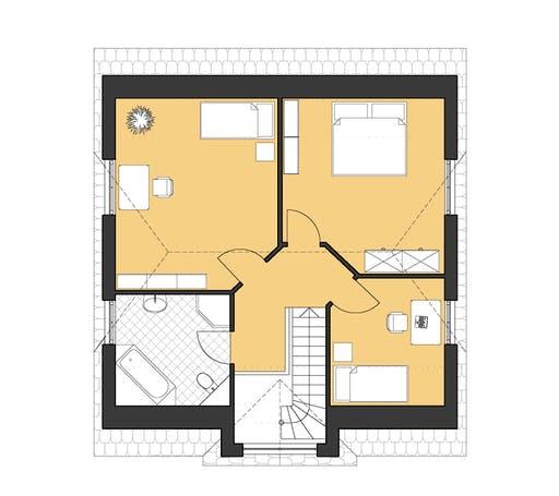 Roth Landhaus 142 Floorplan 2