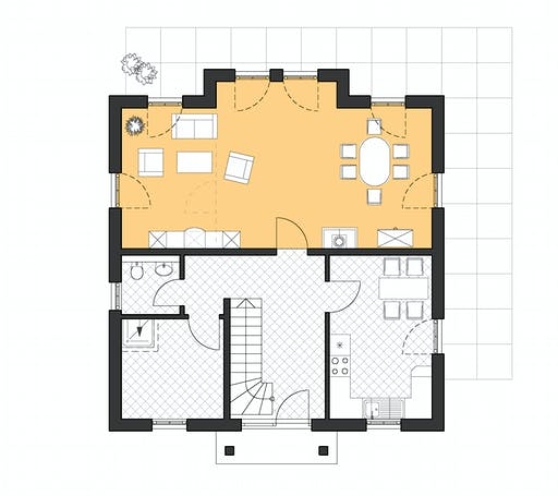 Roth Lugana Floorplan 1