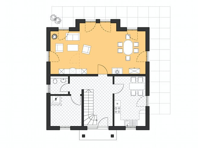 Roth Lugana Floorplan 1
