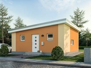 Minimassiv-Haus Poel von Roth-Massivhaus Außenansicht 1