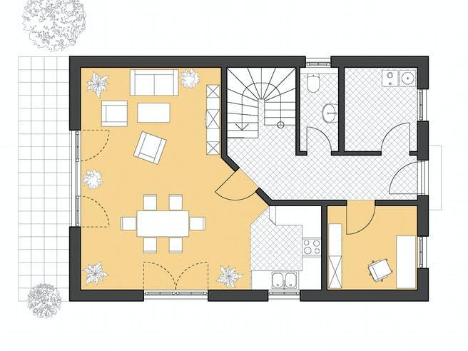 Haus Stade von ROTH-MASSIVHAUS Grundriss 1