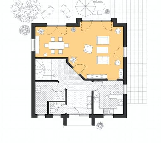 Roth Stadthaus 141 Floorplan 1