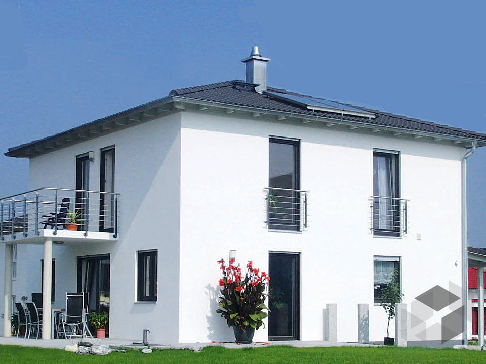 Villa Toskana von Rothdach Außenansicht
