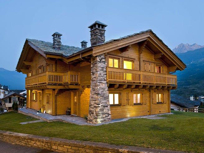 Aosta von Rubner Haus Außenansicht 1