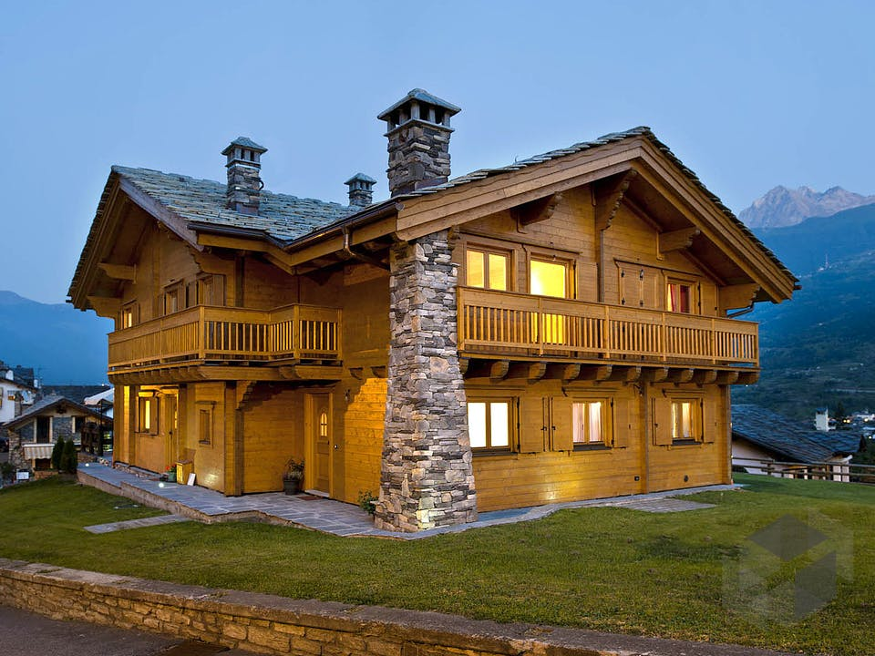Aosta von Rubner Haus - Österreich Außenansicht