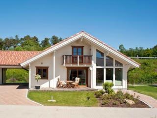 Gardena mit Carport von Rubner Haus Außenansicht 1
