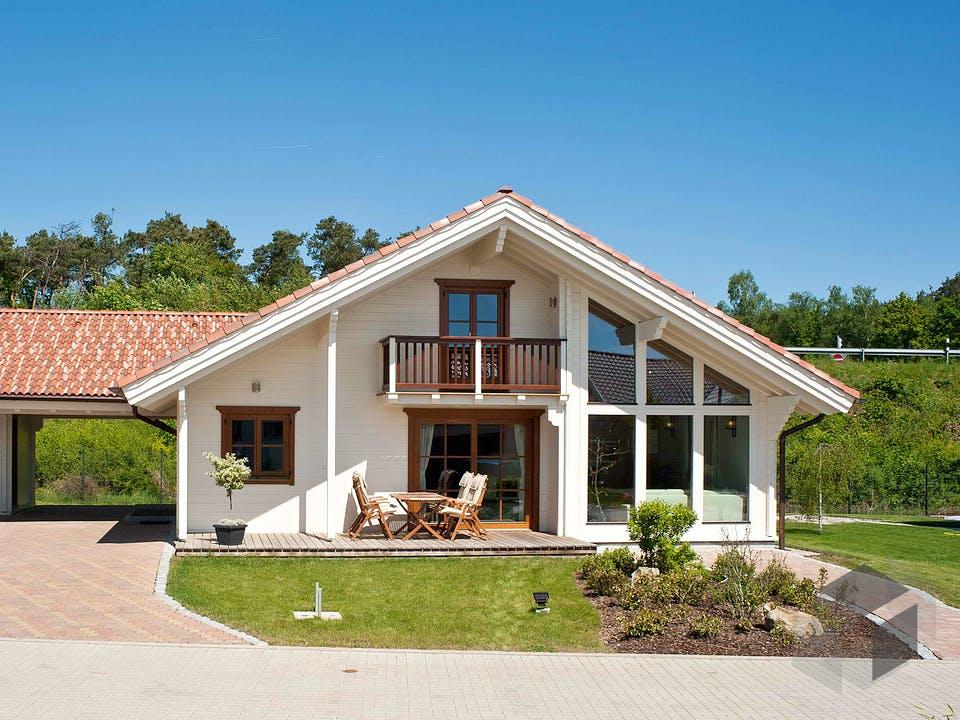 Gardena mit Carport von Rubner Haus - Österreich Außenansicht