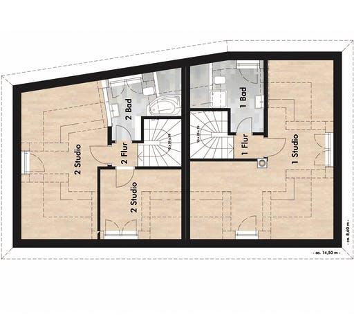 SAALE-Haus Born & Schneider Floorplan 3